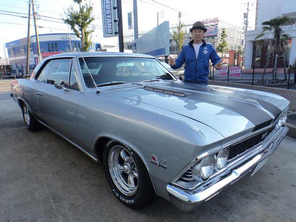愛知県豊田市 和田様 1966 Chevelle 396SS