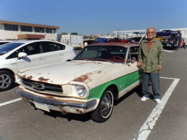 神奈川県川崎市 志村様 1965 Mustang Coupe