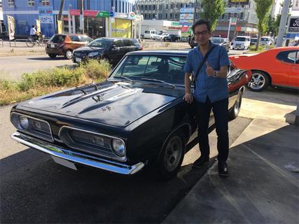 愛知県刈谷市 松浦様 1968 Plymouth Barracuda