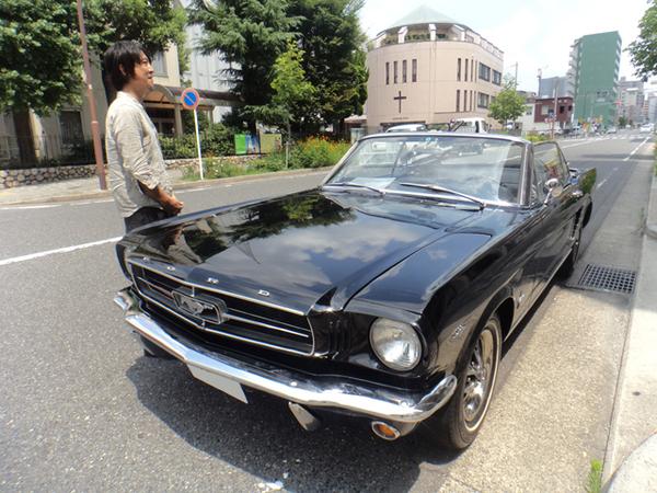 愛知県名古屋市 加藤様 1965 Mustang Convertible