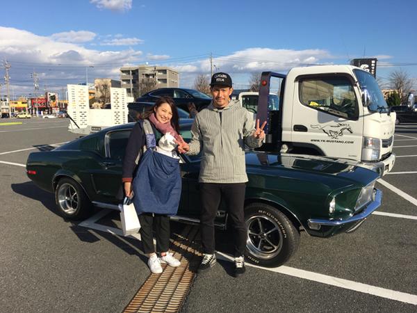 愛知県名古屋市 祖父江様 1968 Mustang Fastbackのサムネイル