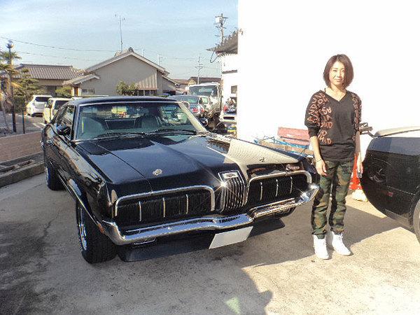 愛知県一宮市 植田様 1970 Mercury Cougar XR7