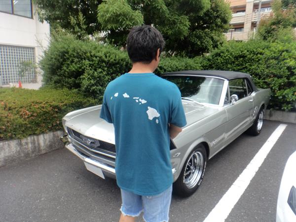 東京都渋谷区 小槻様 1966 Mustang Convertibleのサムネイル