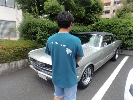 東京都渋谷区 小槻様 1966 Mustang Convertible