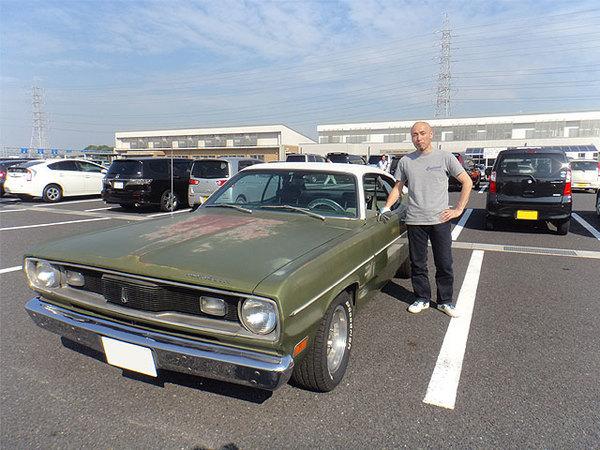 愛知県犬山市 櫻井様 1970 Plymouth Duster