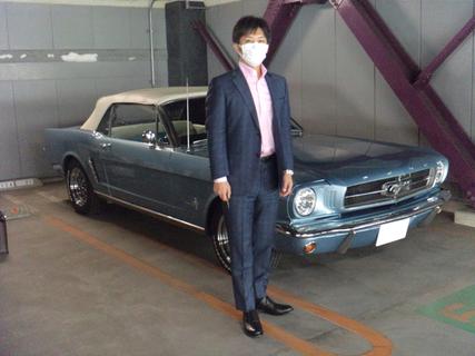 東京都港区 菅野様 1965 Mustang Convertible