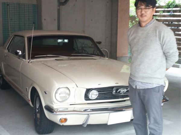 兵庫県西宮市 山崎様 1966 Mustang Coupe