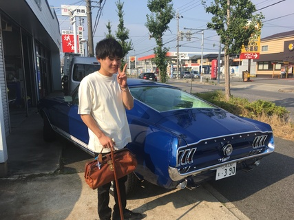 愛知県刈谷市 島様 1967 Mustang Fastback