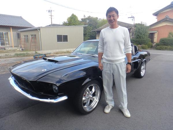愛知県一宮市 植田様 1967 Mustang Shelby GT500 Clone