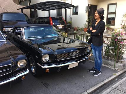 愛知県名古屋市 加藤様 1966 Mustang Convertible