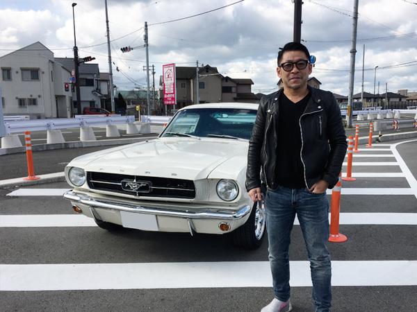 和歌山県和歌山市 三木様 1965 Mustang Fastback