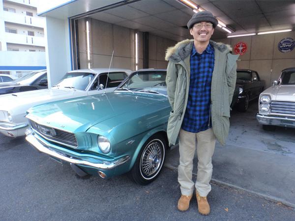 神奈川県相模原市 今井様 1966 Mustang Convertible