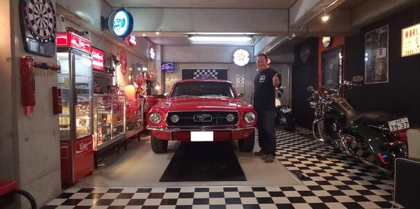 愛知県日進市 芝様 1967 Mustang Fastbackのサムネイル