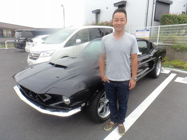 神奈川県秦野市 北村様 1967 Mustang Shelby GT500 Clone