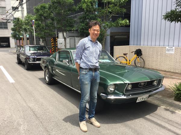 大阪府大阪市 濱田様 1968 Mustang Fastback
