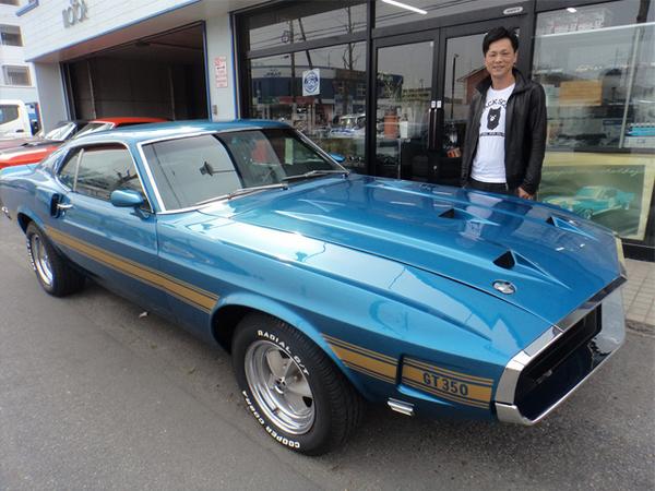 大阪府大阪市 仲様 1969 Mustang Shelby GT350 Clone