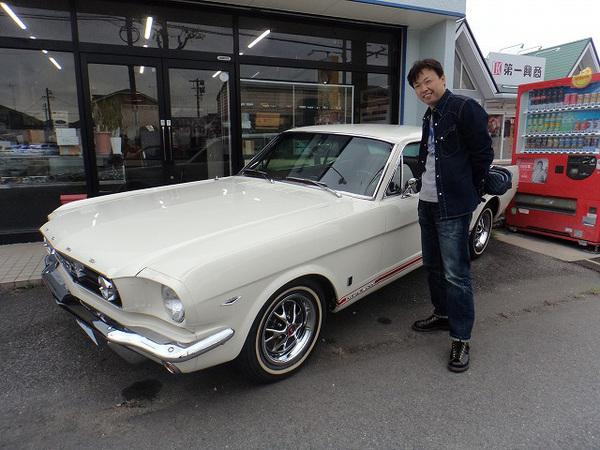 滋賀県蒲生郡 杉浦様 1966 Mustang Coupe
