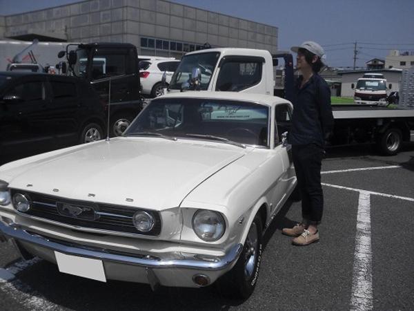 愛知県名古屋市 加藤様 1966 Mustang Coupe