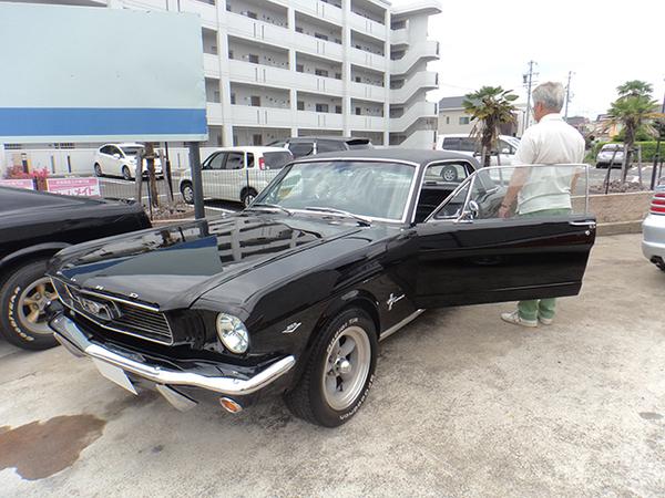 三重県 H様 1966 Mustang Coupe