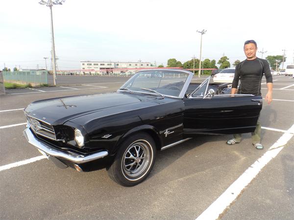 三重県鈴鹿市 大林様 1965 Mustang Convertible