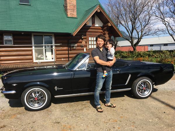 熊本県阿蘇市 山本様 1965 Mustang Convertible