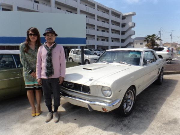 新潟県燕市 新田様 1966 Mustang Coupe