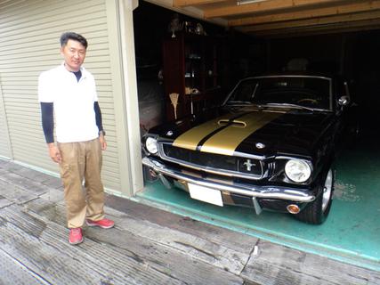 静岡県富士市 服部様 1965 Mustang GT350 Clone