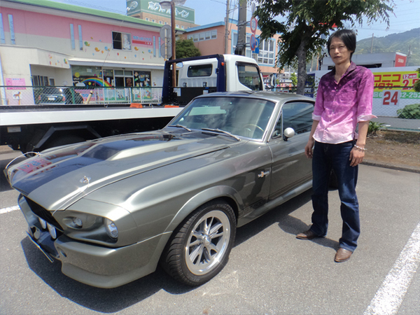 静岡県焼津市 曽根様 1967 Mustang ELEANOR