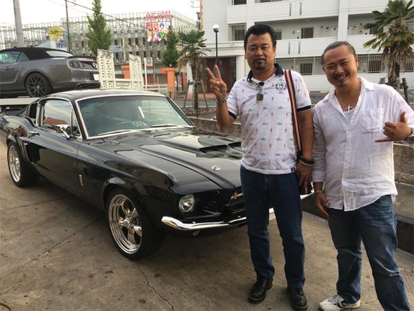 沖縄県うるま市 山内様 1967 Mustang Shelby GT500 Clone