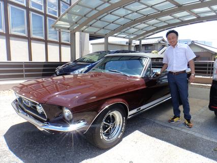 愛知県小牧市 松浦様 1967 Mustang Convertible