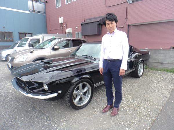 東京都八王子市 橋本様 1967 Mustang Shelby GT500 Clone