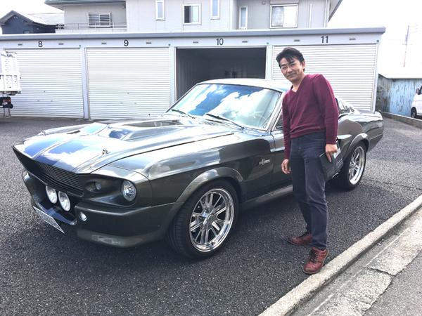 愛知県名古屋市 大原様 1968 Mustang ELEANOR