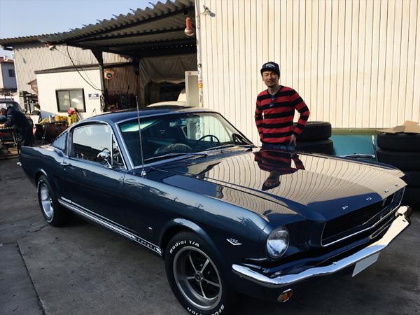 愛知県名古屋市 竹中様 1966 Mustang Fastback