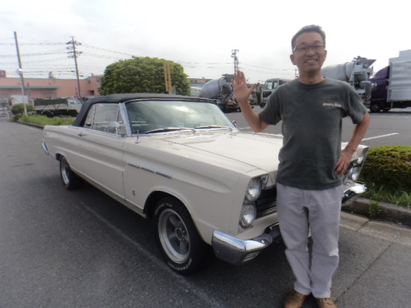 三重県津市 神田様 1965 Mercury comet Convertible