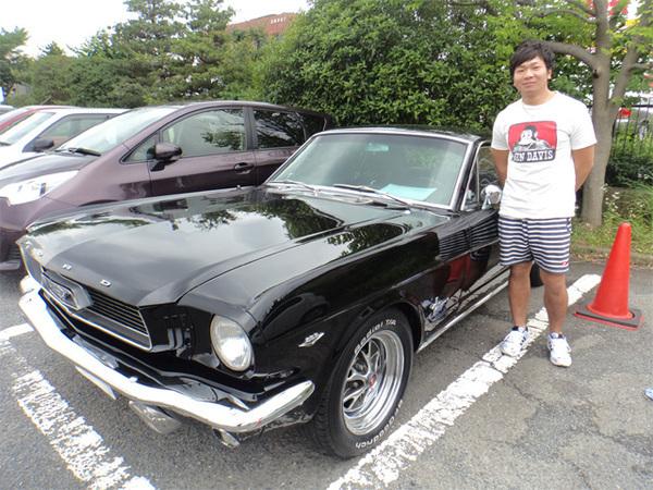 神奈川県横浜市 秋山様 1966 Mustang Coupe