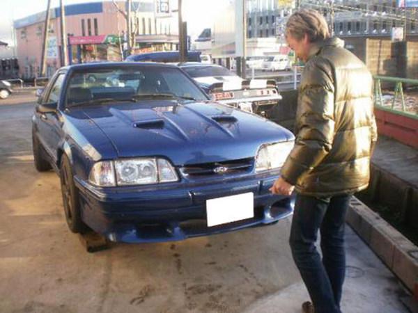 愛知県西尾市 矢頭様 1990 Saleen Mustang