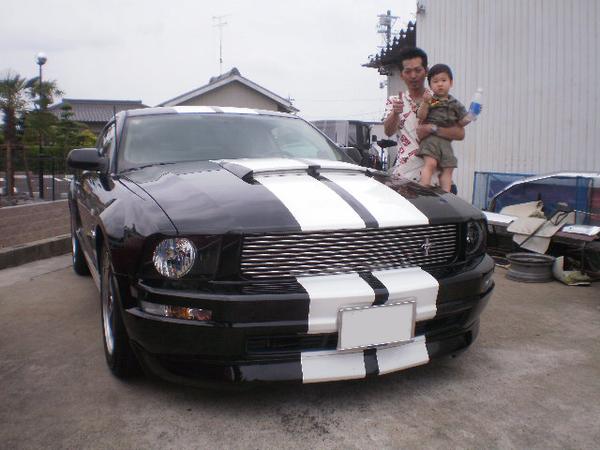 愛知県一宮市 重井様 2009 Mustang