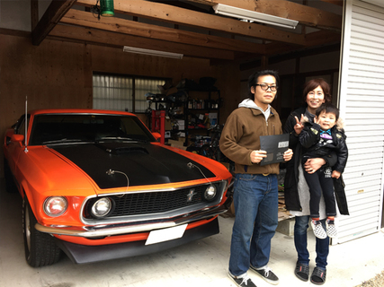 京都府木津川市 阪本様 1969 Mustang Mach1