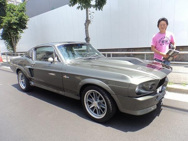 大阪府大阪市 藤田様 1968 Mustang ELEANOR