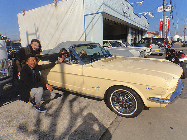 愛知県豊川市 長谷川様 1965 Mustang Convertible