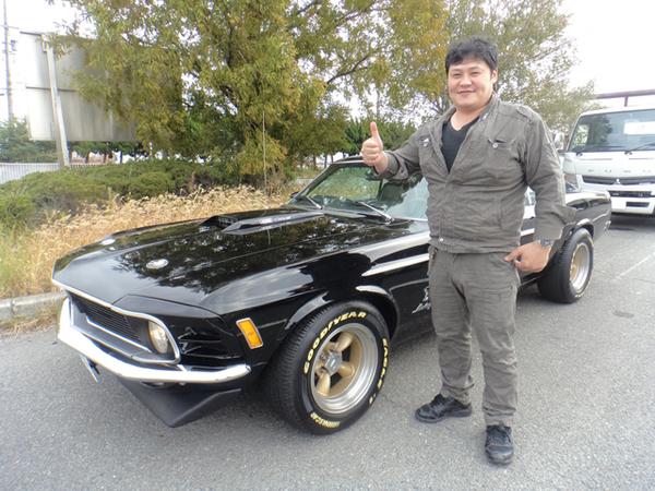 大阪府大阪市 山下様 1970 Mustang Sportsroof