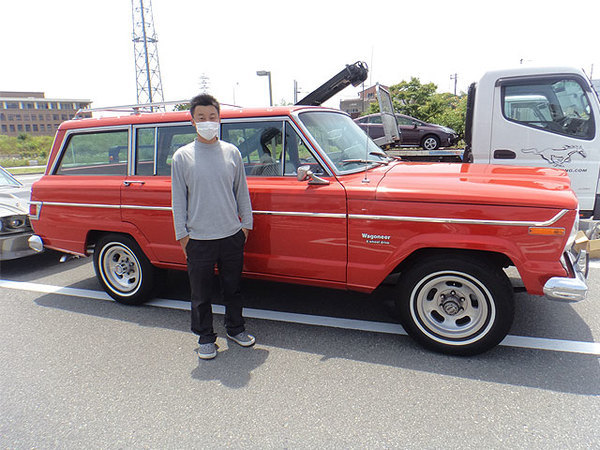 京都府京都市 岩井様 1978 Jeep Wagoneer