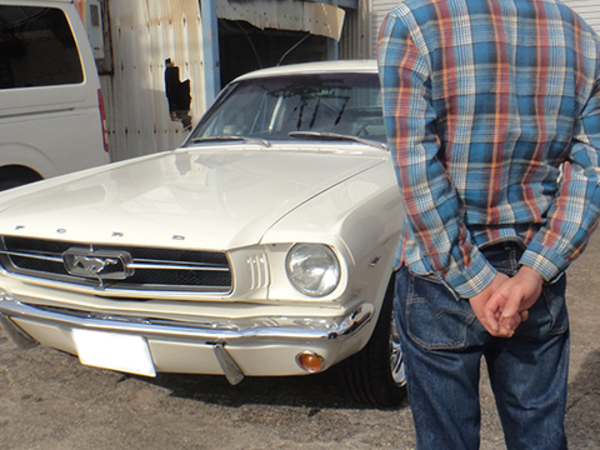愛知県名古屋市 井村様 1965 Mustang Fastback