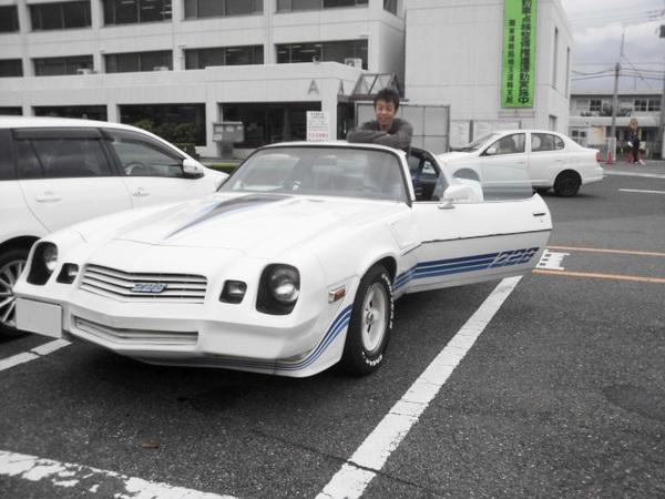 埼玉県北本市 新村様 1979 Camaro Z28