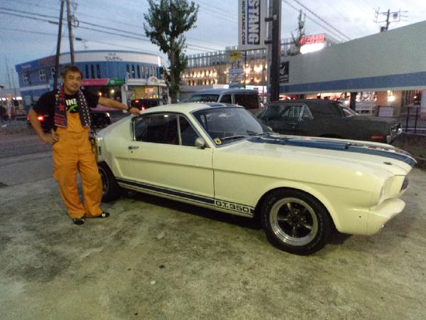 愛知県安城市 高嶌様 1965 Mustang Shelby GT350 Clone
