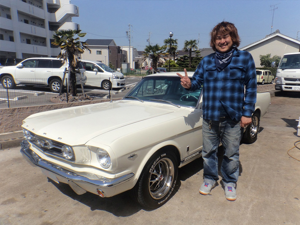 愛知県西尾市 大木様 1966 Mustang Fastback