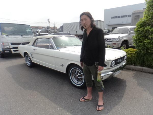 三重県鈴鹿市 田口様 1966 Mustang Convertible