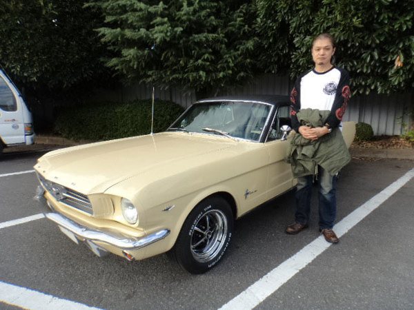 東京都調布市 小林様 1966 Mustang Coupe