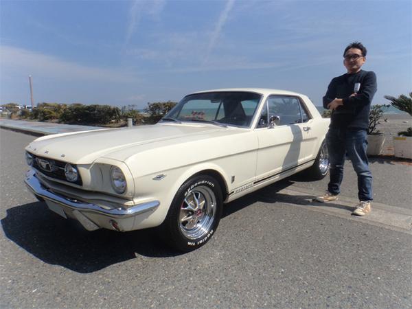 静岡県牧之原市 今井様 1966 Mustang Coupe