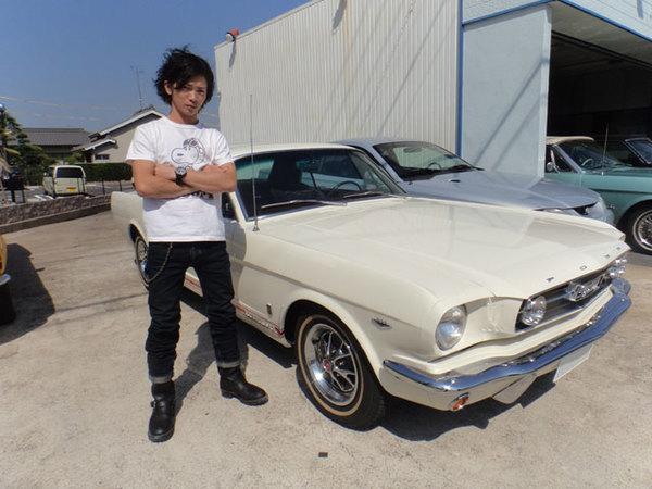 愛知県東海市 長野様 1966 Mustang Coupe